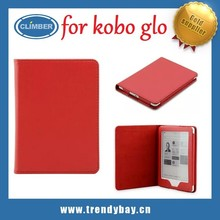 Cheapest!!!Pu leather for kobo glo cover case