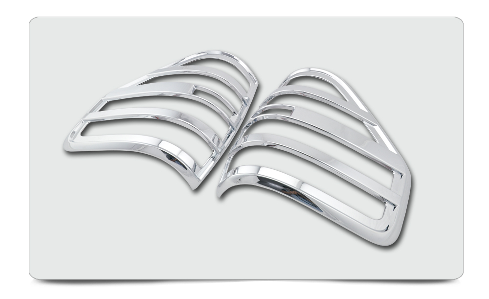 Chrome Plated Tail Light Cover For F150 2009-2014 2 Pieces