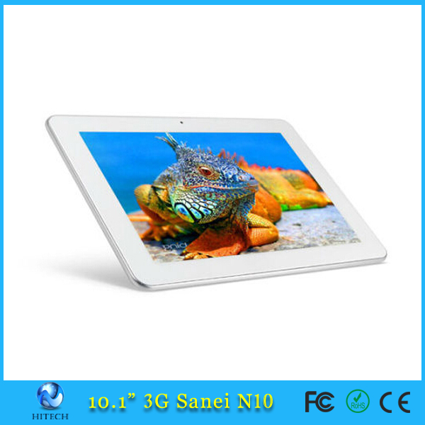 In Stock Sanei N10 3G Phone Calling tablet pc support 3g gps touch tablet with sim card