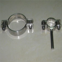 Stainless steel round ordinary conduit saddle pipe clamp
