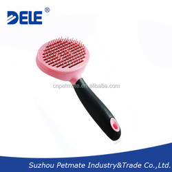 Pet products self- cleaning pet grooming brush for dogs