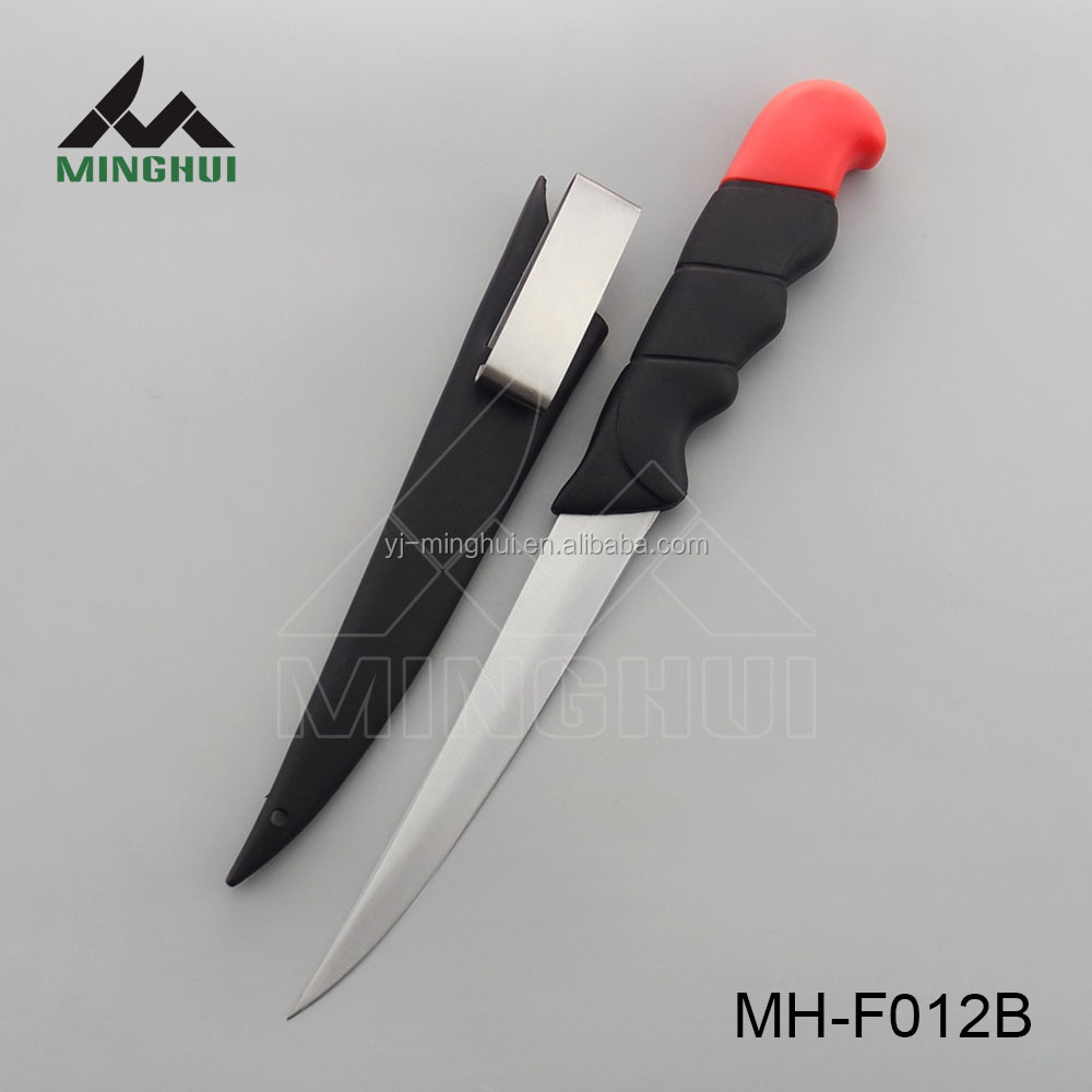 Fishing knife with pp sheath