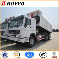 China Heavy Duty Off Road Dump Truck Sinotruck HOWO 6x4 371hp Tipper Truck Left hand steering Vehicle