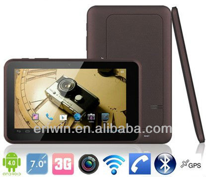 ZX-MD7003 7 inch tablet pc 3G phone call two camera bluetooth tv modules
