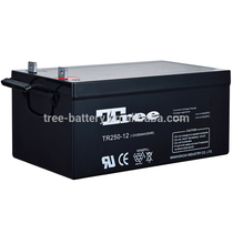 Alibaba Trade Assurance Supplier OEM Factory Maintenance free rechargeable sealed lead acid battery 12v 250ah