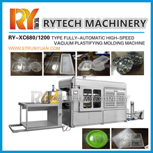 HOT SALE Plastic Vacuum Forming Machine Plate / Tray / Box Molding Machines