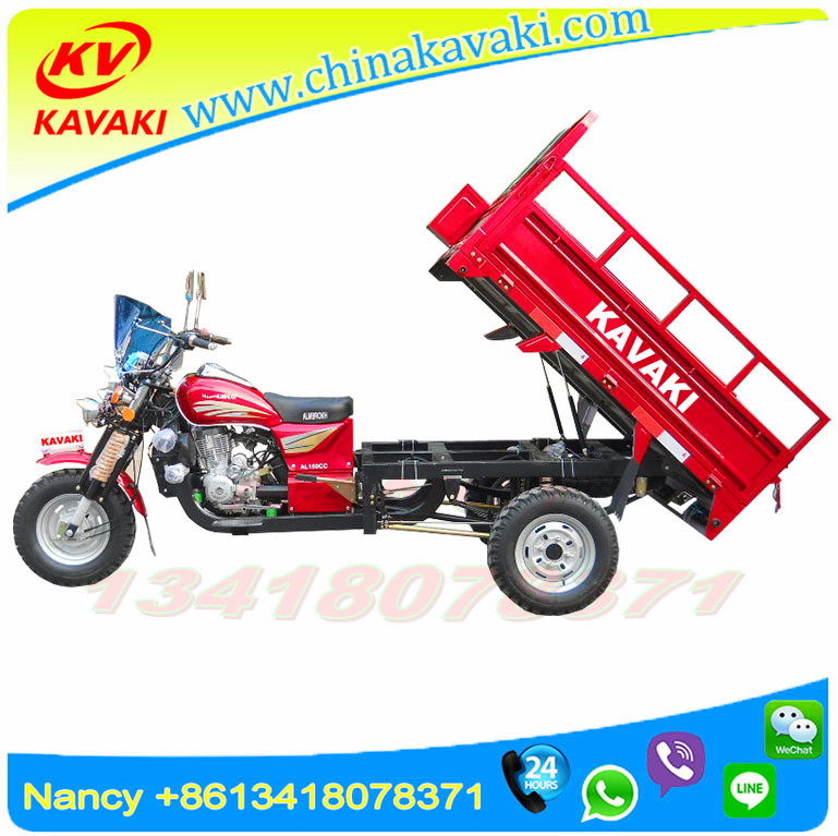 Heavy Duty Cargo Loading 200cc 250cc Africa Popular Cargo Tricycle Motorcycle