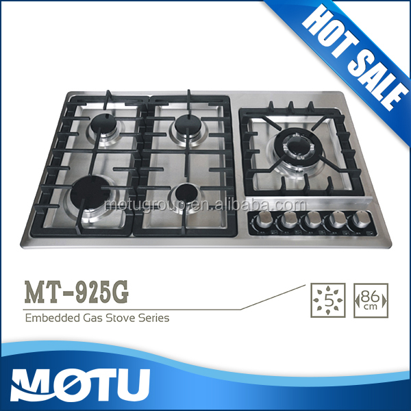 new model auto ignition gas cooker /gas stove whit blue flame