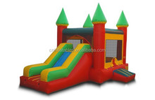 Funny mini inflatable jumpy house/castle Inflatable cartoon combo castle/bouncer/house,outdoor,home used,for kids play