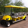 8 seat golf cart for sale,6+2 electric golf cart with customized color,golf cart for spot hotel use