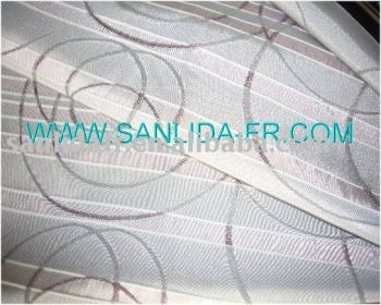 Sanlida 100% polyester Fireproof fabric for hospital curtain