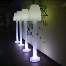 Rechargable led modern floor lamp color changing portable floor led lamp