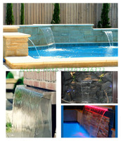 artificial small yard water features
