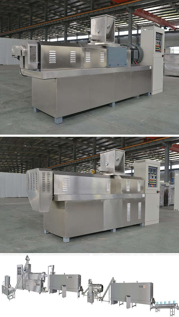 Fully Automatic Hot Selling 2017 Advanced Snack Food Frying Production Line produciton machine