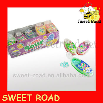 Sour fruit candy