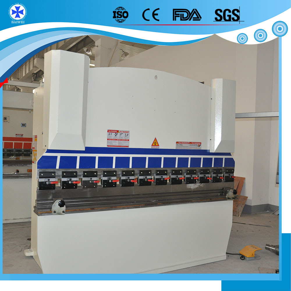 hydraulic press brake metal plate bending machine drawing