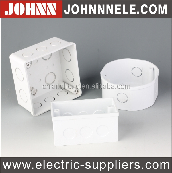 Hot Sales 4*4 Square Fire Resistant PVC Box