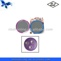 2x plastic shaving mirror with suction cups