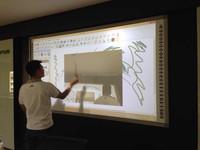 Wall Mounting interactive whiteboards for business for office