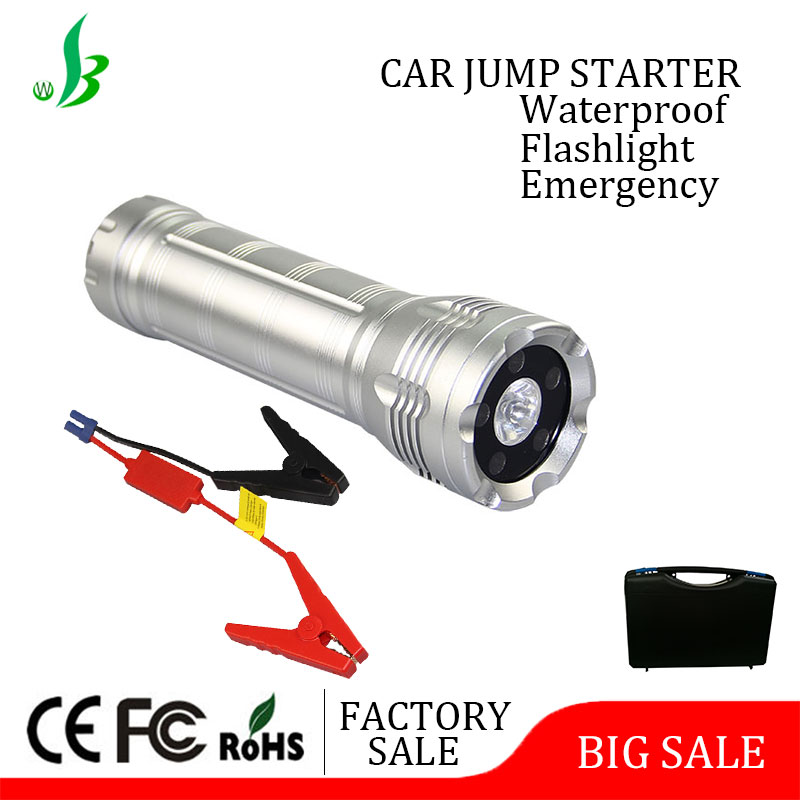 Factory supplier 12000mAh auto emergency jump starter portable jumper cable