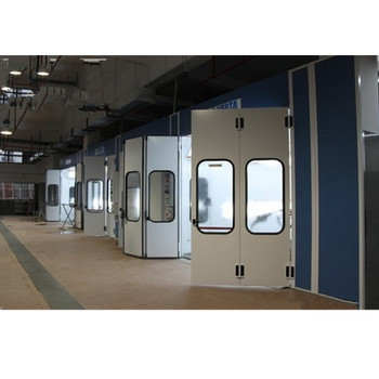 Industrial spray painting booth with 2 Years Warranty