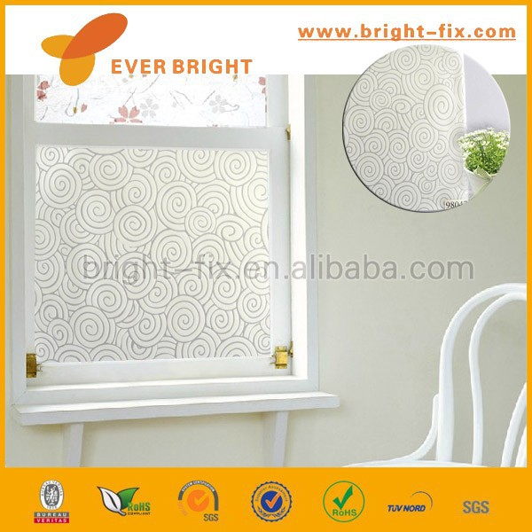 Non-adhesive PE antistatic cling window film