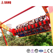 Hot thrilling game rides Top spin amusement park ride for sale