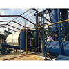 used tyre /plastic pyrolysis machine in waste rubber raw material machine