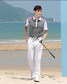 2017 newest top quality men's short sleeve polo golf shirt