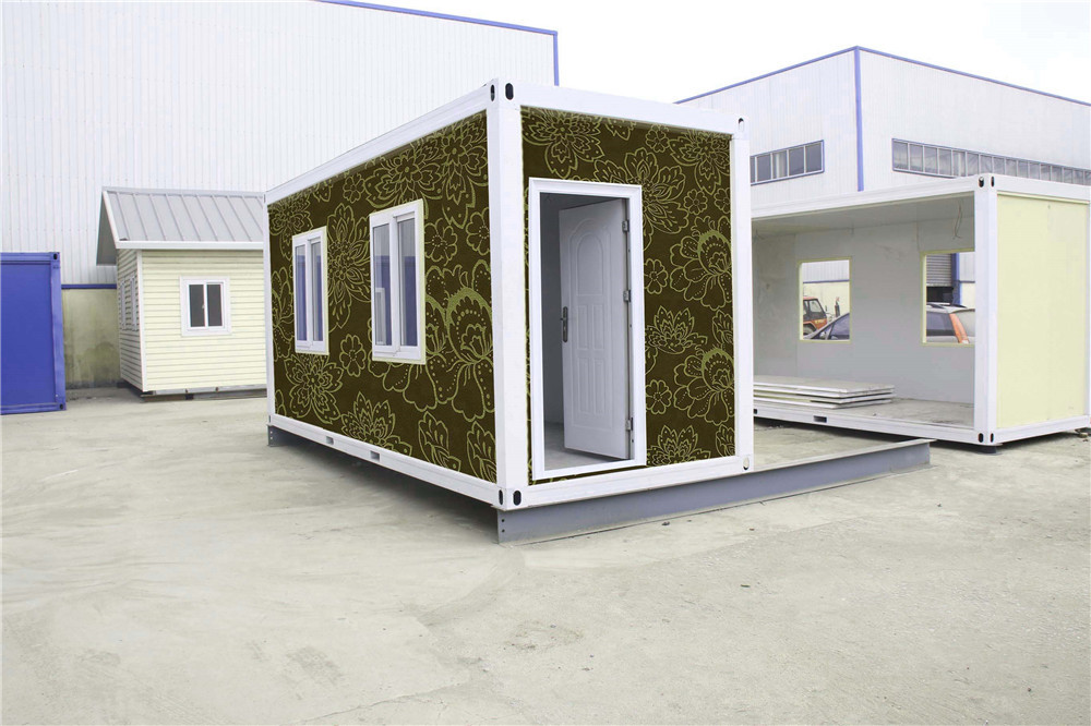 install use low cost cheap standard 20ft living prefab container homes for Pakistan