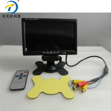 Mini 7 inch TFT LCD Monitor , Mobile DVR and Camera LCD Screen Monitor