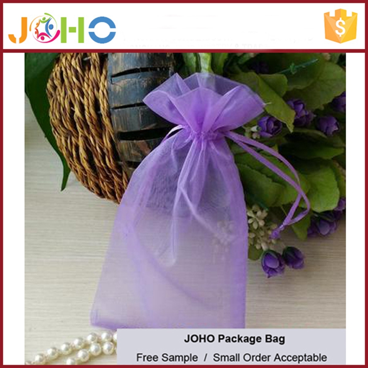 China Manufacturer Wholesale Custom Fashion Cheap Organza sugar bag for packing