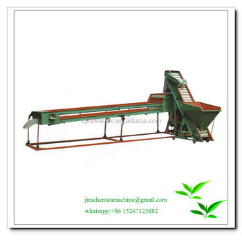 Tea processing machinery/ Tea manufacturing machinery tea vibrating sieve 6CED45 with feeding conveyor