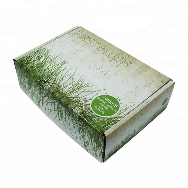 OEM Design Gable Gift Corrugated Paper Boxes With Handle