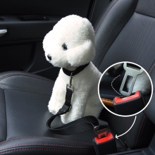 Safety nylon adjustable go pro accessories dog pet car seat belt dog harness
