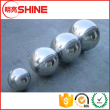 Factory price stainless steel garden ornament 1000mm hollow decorative ball