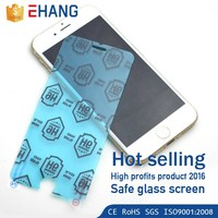 Hot selling! 9H Ultra-thin safety glass cell phone screen protector for iphone 7