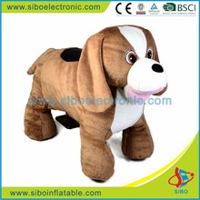 Electric dog plush coin operated kids rides for sale australia
