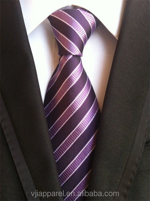 100% Silk ties, Men's Ties, Stripe Mens Tie