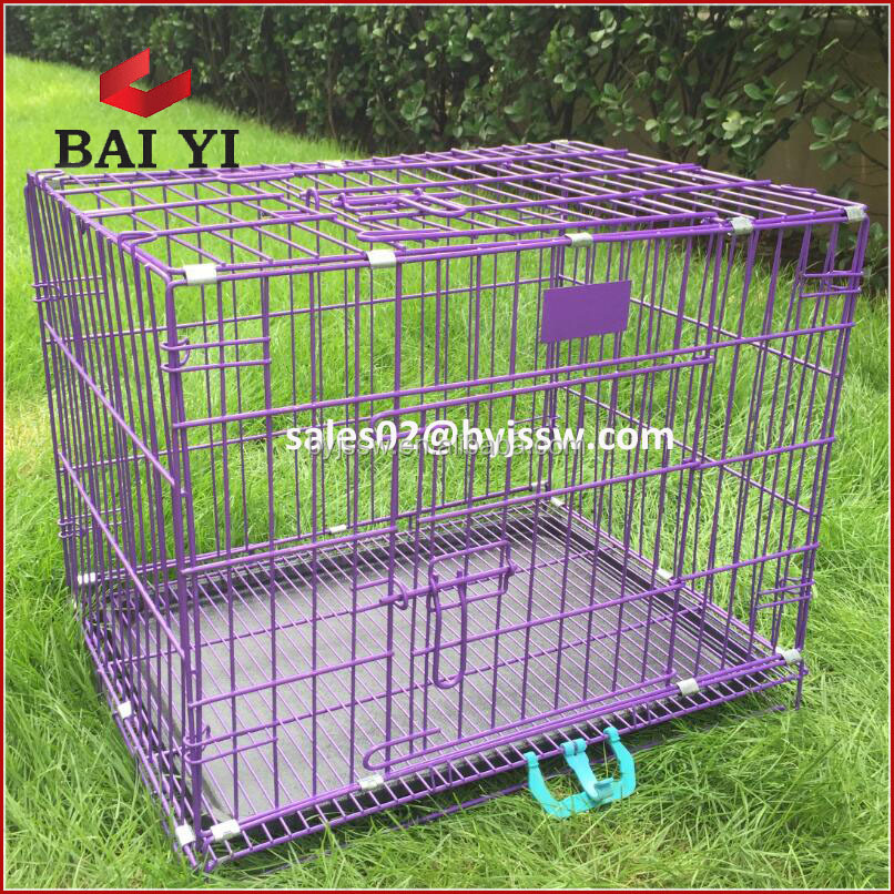 Wholesale Folding Metal Mesh Dog Cage