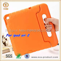 2015 Top quality fashionable Design shock proof rubber silicone case cover for ipad air 2