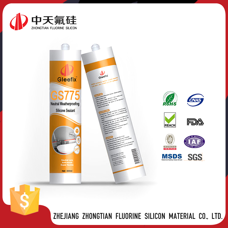 Cheap Super Bottle Resistant water Silicone Sealant