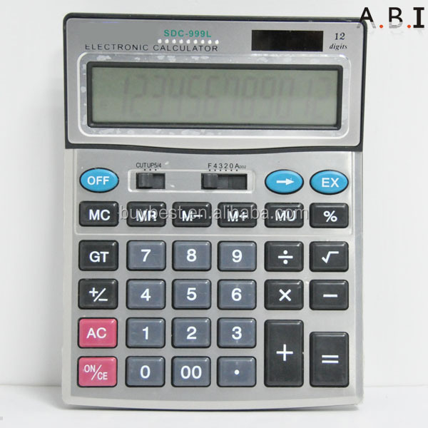 Promotion gift silicon rubber calculator