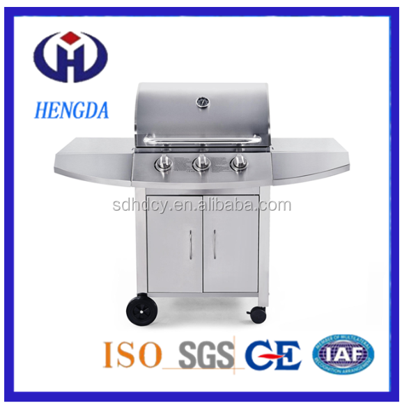 Garden Use European Outdoor Gas Grill BBQ