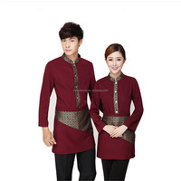 wholesales hotel staff uniform ,make clothing suit uniform hotel front office,women sey hotel manager