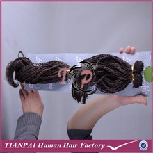 TP wholesale braids on weft, curly micro braid weave weft wholesale