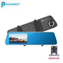 Car rear view mirror camera L854X front and back lens full hd 1080P vehicle blackbox dvr