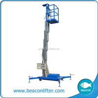 best price aluminum 2 pillar lift