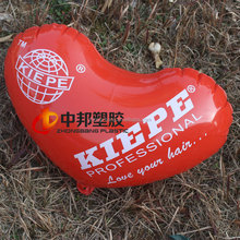 logo printed on the heart shape advertising inflatables Manufacturers