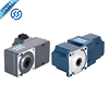 12v 24v dc electric motor with 90 degree transmission gearbox
